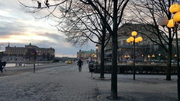 Stoccolma innevata