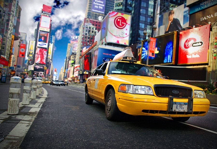 taxi da jfk a manhattan