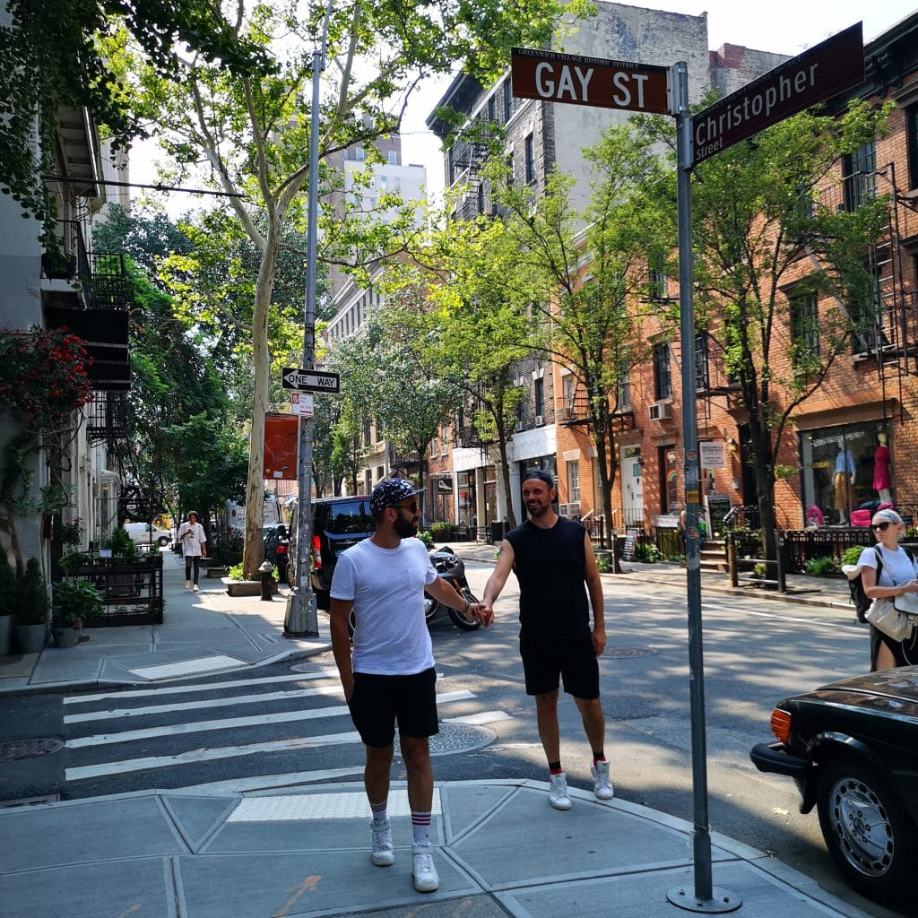 New York- Gay street