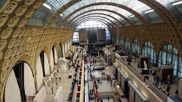 Interno Museo D'Orsay