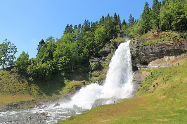 Cascata di Steinsdalsfossen