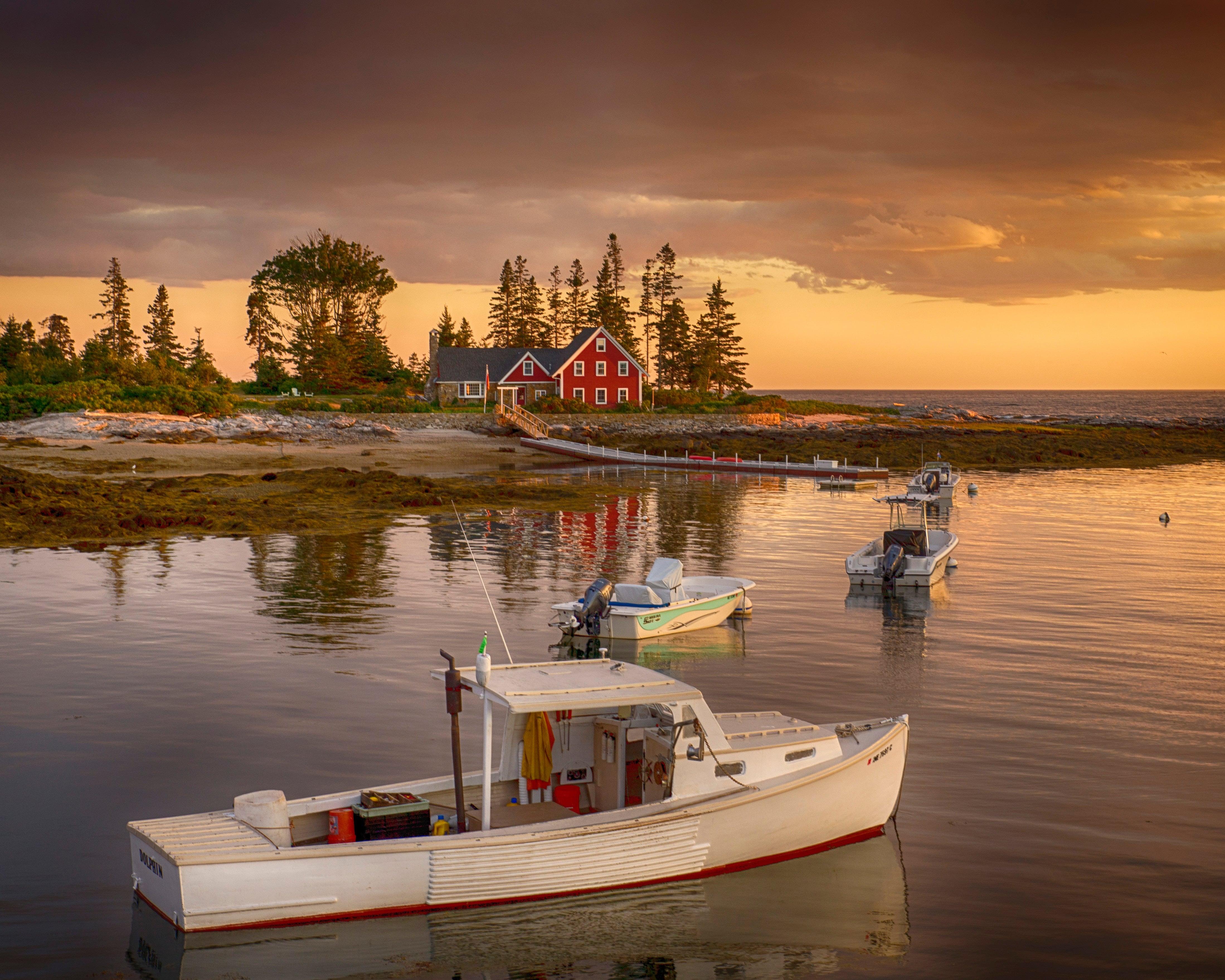 Barca del Maine