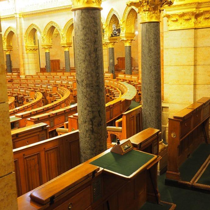 Parlamento a Budapest