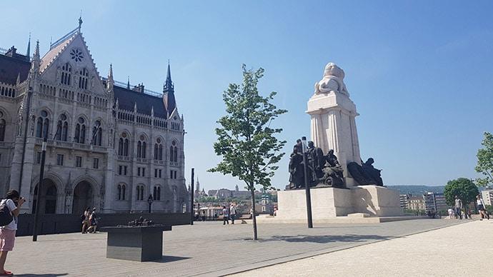 Parlamento di Budapest Esterno