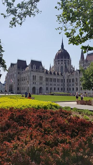 Pianta di Budapest