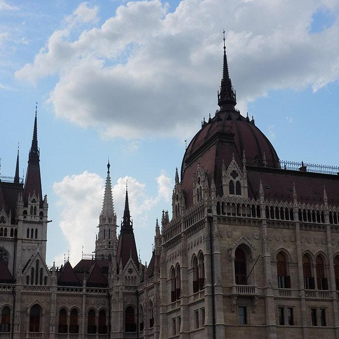 Visitare Parlamento Budapest