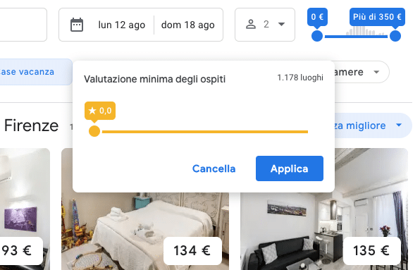 google hotels