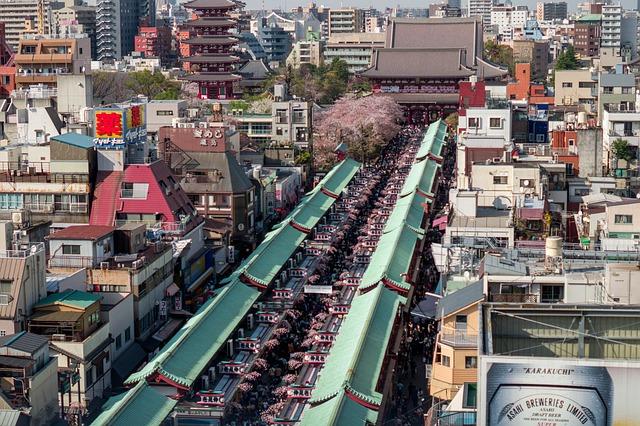 Quartiere Asakusa Tokyo