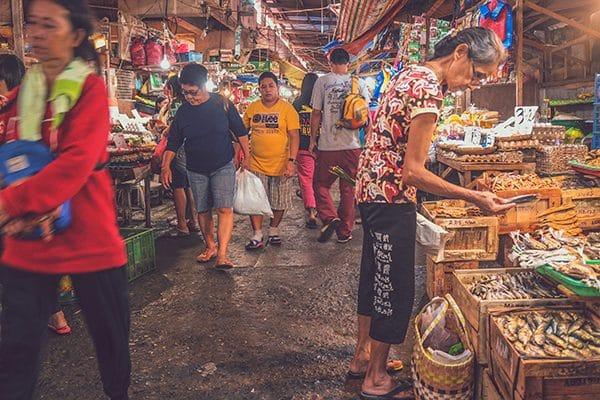 Il Night Bazaar di Chiang Mai