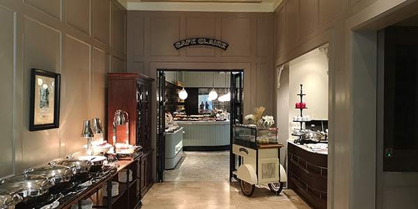Ingresso Café Claire