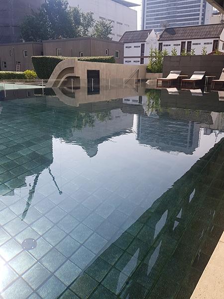 Lit Bangcoc piscina