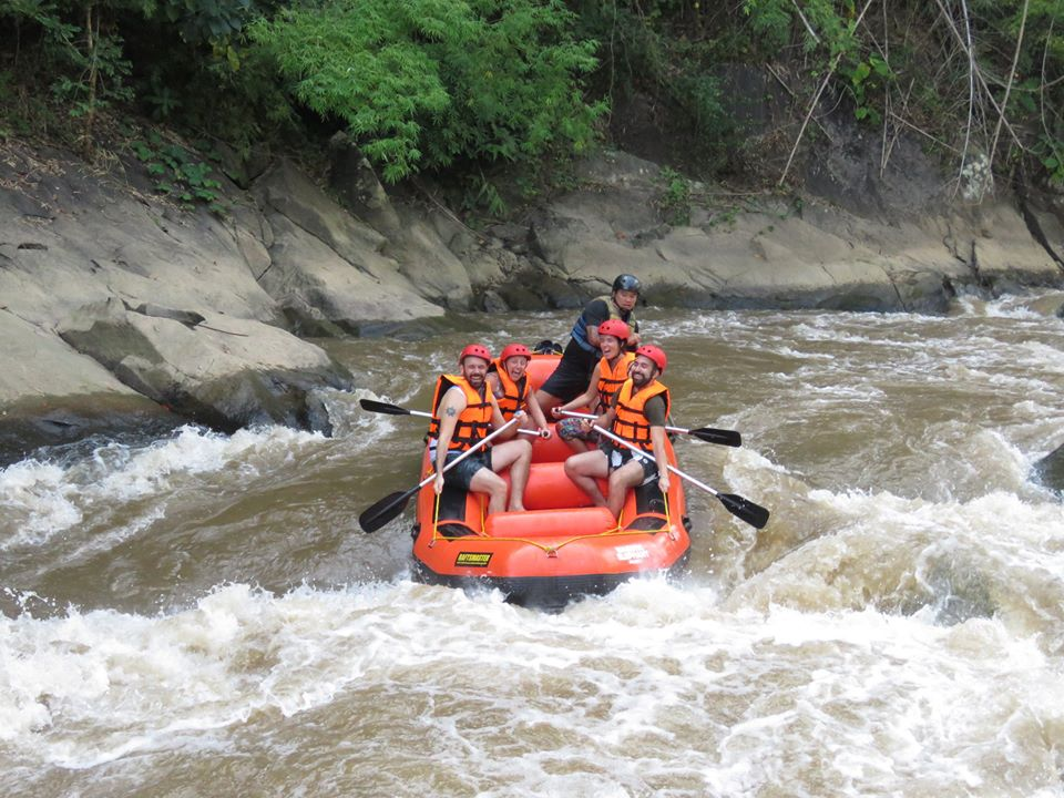 Rafting in Thailandia
