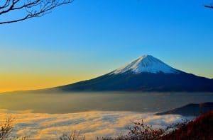 Salire sul monte Fuji