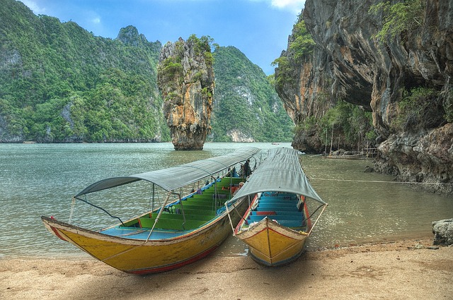 Spostamenti via mare in Thailandia