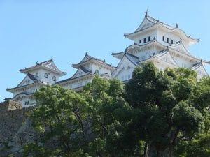 Visitare un castello giapponese