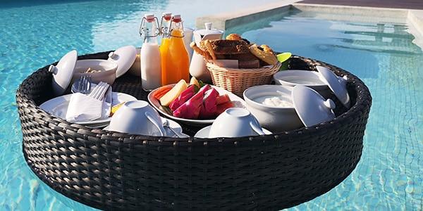 Colazione galleggiante Panan Krabi Resort
