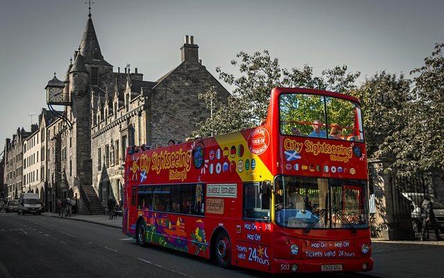 Come arrivare dall'aeroporto di Edimburgo al centro città