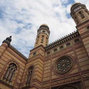 Esterno Grande Sinagoga Budapest