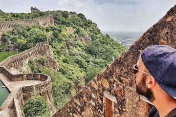 Il Forte di Chittorgarh in Rajasthan