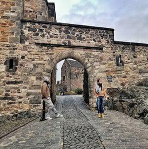 Il-Castello-di-Edimburgo