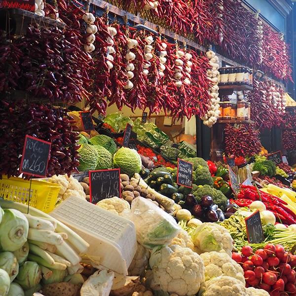 Il Mercato Centrale a Budapest