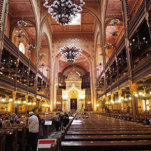 Interno Grande Sinagoga Budapest