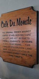 Cafè du Monde di New Orleans