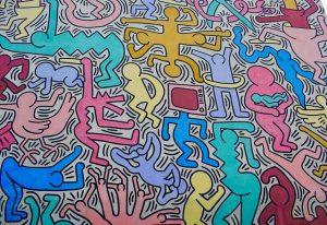 Cosa vedere a Pisa - Murales di Keith Haring