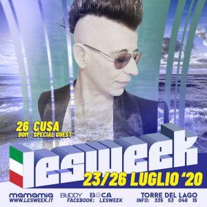 CUSA Lesweek 2020