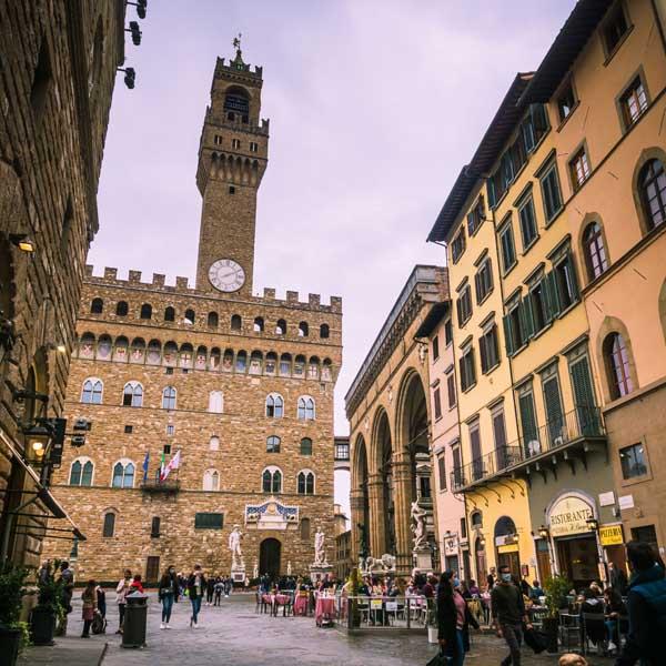 Cosa vedere a Firenze - Piazza della Signoria, Palazzo Vecchio