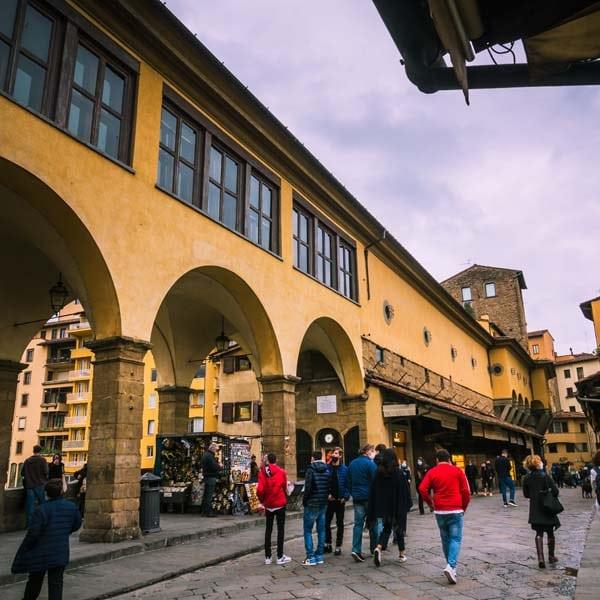 Corridoio vasariano Firenze 4