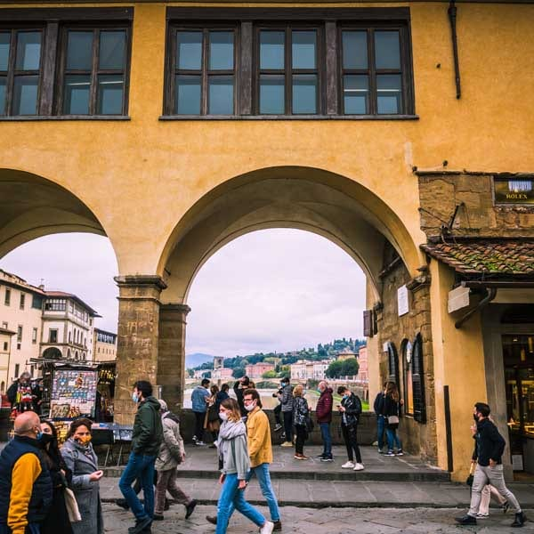 Corridoio vasariano Firenze 6