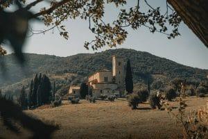 Itinerario Val d'Orcia - Abbazia Sant'Antimo