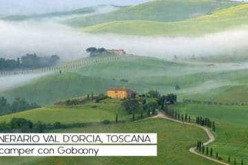 Itinerario Val d'Orcia, Toscana: in camper con Goboony