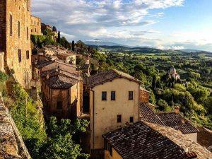 Itinerario val d'Orcia - Montepulciano