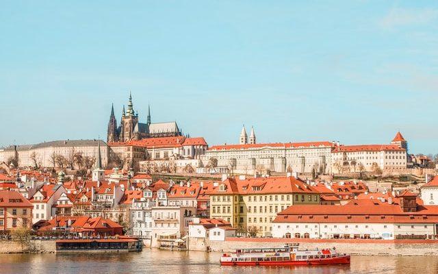 Praga dove si trova