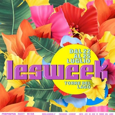 Incontri lesbo Lesweek 2021 Torre del Lago