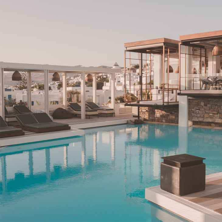 Semeli Hotel piscina 8