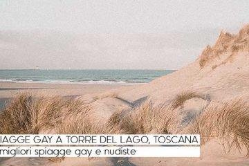 spiagge gay a torre del lago toscana