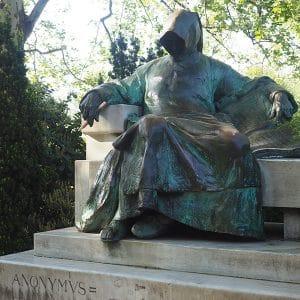Statua dell'Anonimo di Budapest